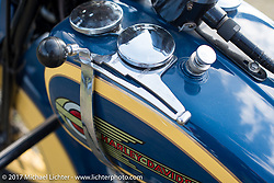 Harley-Davidson Flathead at the AMCA (Antique Motorcycle Club of America) Sunshine Chapter National Meet in New Smyrna Beach during Daytona Beach Bike Week. FL. USA. Saturday March 11, 2017. Photography ©2017 Michael Lichter.