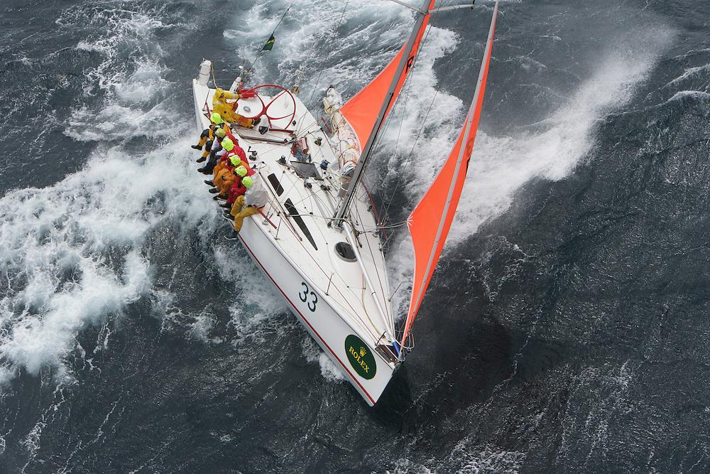 Cadenza<br /> Rolex Sydney Hobart Yacht Race 2004<br /> Daniel Forster/Rolex