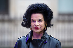 Bianca Jagger arriving for Royal Academy of Arts Summer Exhibition Preview Party 2019 held at Burlington House, London. Picture date: Tuesday June 4, 2019. Photo credit should read: Matt Crossick/Empics. EDITORIAL USE ONLY.