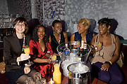 ELLI MOODY; MARIANNE ALAPINI; GUGULETHU MSELEKU; DEMI GIBSON; SHAKIRA SMITH.  Action Aid UK - charity fashion show - celeb update<br />