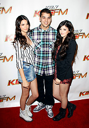 Kendall Jenner, Kylie Jenner, and Robert Kardashian arriving for KIIS FM's Wango Tango 2010 held at Staples Center in Los Angeles, California on May 15, 2010.  Photo by Tony DiMaio / ABACAPRESS.COM (Pictured : Kendall Jenner, Kylie Jenner, Robert Kardashian)  | 231026_042