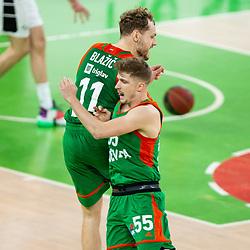 20210130: SLO, Basketball - ABA League 2020/21, KK Cedevita Olimpija vs KK Partizan NIS