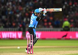 Worcestershire Rapids' Joe Clarke bats during the Vitality T20 Blast Final on Finals Day at Edgbaston, Birmingham.