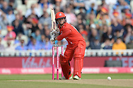 Alex Davies of Lancashire Lightning batting during the Vitality T20 Finals Day Semi Final 2018 match between Worcestershire Rapids and Lancashire Lightning at Edgbaston, Birmingham, United Kingdom on 15 September 2018.