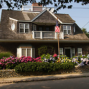 A house in Watch Hill, Rhode Island that once served at the town Post Office.
