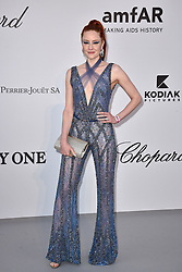 Barbara Meier attends the amfAR Cannes Gala 2019 at Hotel du Cap-Eden-Roc on May 23, 2019 in Cap d'Antibes, France. Photo by Lionel Hahn/ABACAPRESS.COM