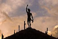 HUMAHUACA, MONUMENTO A LA INDEPENDENCIA, PROV. DE JUJUY, ARGENTINA