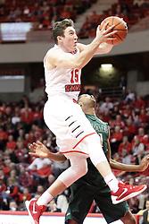 05 December 2015: Justin McCloud(15). Illinois State Redbirds host the University of Alabama - Birmingham Blazers at Redbird Arena in Normal Illinois (Photo by Alan Look)