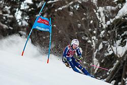Marta Bassino (ITA) during the Ladies' Giant Slalom at 57th Golden Fox event at Audi FIS Ski World Cup 2020/21, on January 16, 2021 in Podkoren, Kranjska Gora, Slovenia. Photo by Vid Ponikvar