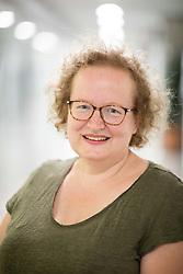LJUBLJANA, SLOVENIA - SEPTEMBER 15: Portrait of Petra Jelenko Roth, psyhotherpist, on September 15, 2021 in Galerija Kapitelj, Ljubljana, Slovenia. Photo by Vid Ponikvar / Sportida