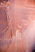Pictograph, Canyon de Chelly, Arizona, USA<br />