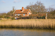 Riverside Cottage at Snape, Suffolk, England