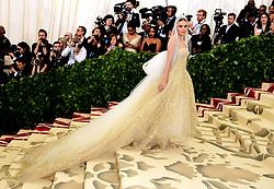 Kate Bosworth attending the Metropolitan Museum of Art Costume Institute Benefit Gala 2018 in New York, USA.