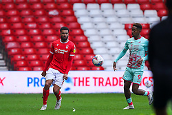 Cyrus Christie of Nottingham Forest  - Mandatory by-line: Nick Browning/JMP - 29/11/2020 - FOOTBALL - The City Ground - Nottingham, England - Nottingham Forest v Swansea City - Sky Bet Championship