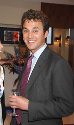THOMAS VAN STRAUBENZEE at the launch of The Rupert Lund Showroom, 61 Chelsea Manor Street, London SW3 on 2nd May 2007.<br />