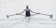 Poznan. Poland. GBR Lm1X, Zak LEE-GREEN, FISA 2015 European Rowing Championships. Venue Lake Malta. 29.05.2015. [Mandatory Credit: Peter Spurrier/Intersport-images.com] .   Empacher.
