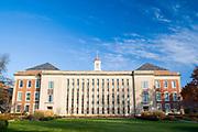 Nebraska Union Building at the University of Nebraska campus in Lincoln Nebraska, USA