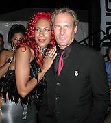 Audra Lomax, Sylver Logan Sharp & Michael Bolton Smock Magazine Launch Party.South Street Seaport.New York, NY.June 26, 2001.Photo By CelebrityVibe.com..