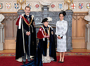 061719 Spanish Royals attends Order of the Garter service