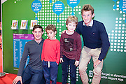 NO FEE PICTURES<br /> 28/1/16 Shane Carroll, age 8 and his brother Eoin, 6 with the O'Donovan brothers Gary and Paul at the Holiday World Show 2017 at the RDS Simmonscourt in Dublin. Picture: Arthur Carron