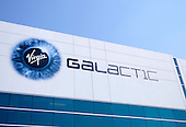 Virgin Galactic building in Long Beach.