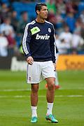 Cristiano Ronaldo training