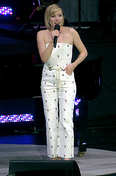 EXCLUSIVE: Carly Rae Jepsen Performs at David Foster Foundation Gala wearing strapless jumpsuit in Vancouver, Canada. Rogers Arena in downtown, Vancouver was sold out as Hollywood stars including Oprah, Steven Tyler, Dr.Phil, Andre Agassi, Steffi Graf attended the David Foster Foundation 30th Anniversary Miracle Gala & Concert on Saturday night. The event raised over $10 Million which will go to families whose children are undergoing pediatric organ transplants. 21 Oct 2017 Pictured: carly rae jepsen. Photo credit: MEGA TheMegaAgency.com +1 888 505 6342