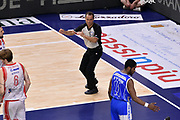 DESCRIZIONE : Sassari Lega A 2014-2015 Banco di Sardegna Sassari Grissinbon Reggio Emilia Finale Playoff Gara 6 <br /> GIOCATORE : Tolga Sahin arbitro<br /> CATEGORIA : arbitro<br /> SQUADRA : arbitro<br /> EVENTO : Campionato Lega A 2014-2015<br /> GARA : Banco di Sardegna Sassari Grissinbon Reggio Emilia Finale Playoff Gara 6 <br /> DATA : 24/06/2015<br /> SPORT : Pallacanestro<br /> AUTORE : Agenzia Ciamillo-Castoria/GiulioCiamillo<br /> GALLERIA : Lega Basket A 2014-2015<br /> FOTONOTIZIA : Sassari Lega A 2014-2015 Banco di Sardegna Sassari Grissinbon Reggio Emilia Finale Playoff Gara 6<br /> PREDEFINITA :