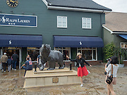 Shoppers, Bicester Village. 27 August 2016