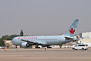 Israel, Ben-Gurion international Airport Air Canada Boeing 767-333ER,