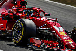 July 20, 2018 - Hockenheim, Germany - Motorsports: FIA Formula One World Championship 2018, Grand Prix of Germany, ..#7 Kimi Raikkonen (FIN, Scuderia Ferrari) (Credit Image: © Hoch Zwei via ZUMA Wire)