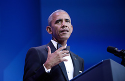 U.S. President Barack Obama speaks at the 39th Annual Congressional Hispanic Caucus Institute Public Policy Conference and Annual Awards Gala, September 15 2016, in Washington, DC. Photo by Olivier Douliery/Abaca