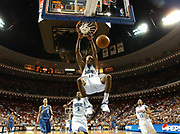 April 1, 2005, Orlando, Florida, USA;  Dwight Howard of the Orlando Magic dunks for two of his 22 points against the Washington Wizards.  The Magic lost to the Wizards 111-102.