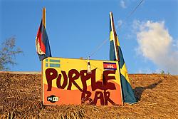 Purple Bar SIgn