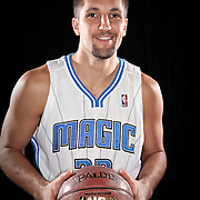 Ryan Anderson of the Orlando Magic media day at the Amway Center in downtown Orlando, Florida.