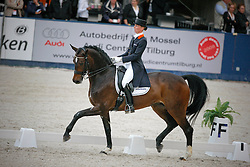 Schellekens-Bartels Imke (NED) - Hunter Douglas Sunrise<br /> Nederlands Kampioenschap Dressuur - De Steeg 2009<br /> Photo © Dirk Caremans