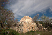 Israel, Judea Mountains, the tomb of Sheikh Badar at Dir El Sheihk