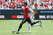 Manchester United Midfielder Jesse Lingard during the AON Tour 2017 match between Real Madrid and Manchester United at the Levi's Stadium, Santa Clara, USA on 23 July 2017.
