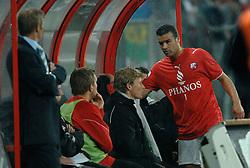 09-05-2007 VOETBAL: PLAY OFF: UTRECHT - RODA: UTRECHT<br /> In de play-off-confrontatie tussen FC Utrecht en Roda JC om een plek in de UEFA Cup is nog niets beslist. De eerste wedstrijd tussen beide in Utrecht eindigde in 0-0 / Ali Boussaboun<br /> ©2007-WWW.FOTOHOOGENDOORN.NL