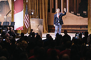 Sen. Rand Paul (R-KY) waves to supporters as he takes the stage to speak during day two of the Conservative Political Action Conference (CPAC) at the Gaylord National Resort & Convention Center in National Harbor, Md.