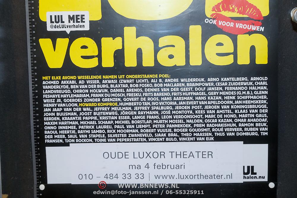 NLD/Rotterdam/20130204 - Premiere LULverhalen 2013,