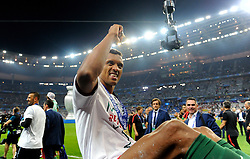 Nani of Portugal celebrates Winning the Uefa European Championship  with Portugal fans  - Mandatory by-line: Joe Meredith/JMP - 10/07/2016 - FOOTBALL - Stade de France - Saint-Denis, France - Portugal v France - UEFA European Championship Final