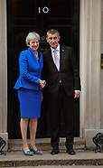 Andrej Babiš ,Theresa May