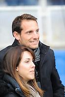 Renaud Lavillenie / Anais Poumarat - 14.12.2014 - Clermont / Munster - European Champions Cup <br /> Photo : Jean Paul Thomas / Icon Sport