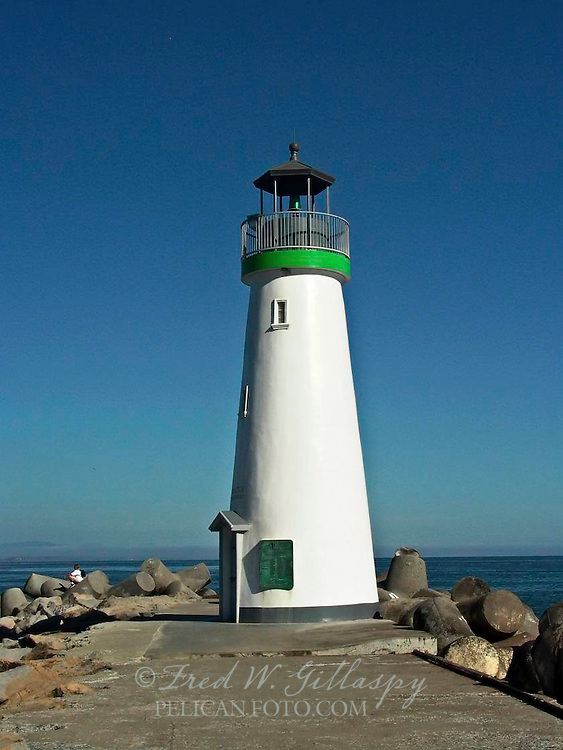Santa Cruz Harbor ~ Walton Lighthouse ~ 0457