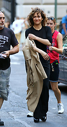 August 29, 2016 - New York, New York, United States - Actress Jennifer Lopez was on the downtown Manhattan set of the TV show 'Shades of Blue' on August 29 2016 in New York City  (Credit Image: © Zelig Shaul/Ace Pictures via ZUMA Press)