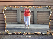 "Bizarre Photos of Mirrors Sold on Craigslist<br /> <br /> Eric Oglander estimates he's spent 700 hours on Craigslist looking for pictures of mirrors. The New York artist has culled through countless advertisements made by regular people throughout the country, and he's saved a few thousand of the most special ones.<br /> <br /> The ""specialness"" of any particular mirror can be a funny detail, or a beautiful composition, but sometimes it's a heartbreaking moment, reflected by accident. Oglander rarely pays much attention to the words that accompany a Craigslist photo. He finds it means far less than the photo itself. ""Sometimes I think the text must include something like 'Isn't this a crazy photo!?!'' he admits, ""but it never does.""<br /> ©Eric Oglander /Exclusivepix Media"
