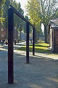 Tereny bylego niemieckiego nazistowskiego obozu koncentracyjnego i zaglady, Auschwitz Grounds of the former German Nazi concentration and extermination camps Auschwitz I, Poland