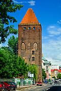 Wieża Bramy Chojnowskiej w Legnicy, Polska<br /> Tower of the Chojnów Gate in Legnica, Poland