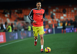 January 26, 2019 - Valencia, Valencia, Spain - Vicente Iborra of Villarreal CF prior the La Liga Santander match between Valencia and Villarreal at Mestalla Stadium on Jenuary 26, 2019 in Valencia, Spain. (Credit Image: © Maria Jose Segovia/NurPhoto via ZUMA Press)